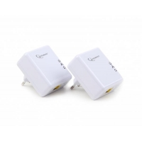 Homeplug Lan PLC Adapter 500Mbps White -827003