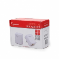 Homeplug Lan PLC Adapter 500Mbps White -827005
